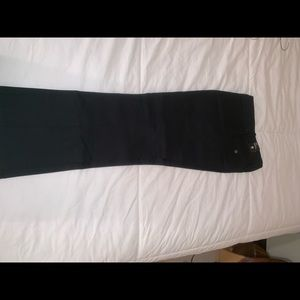 Drew fit boot Limited cut size 8  black slacks
